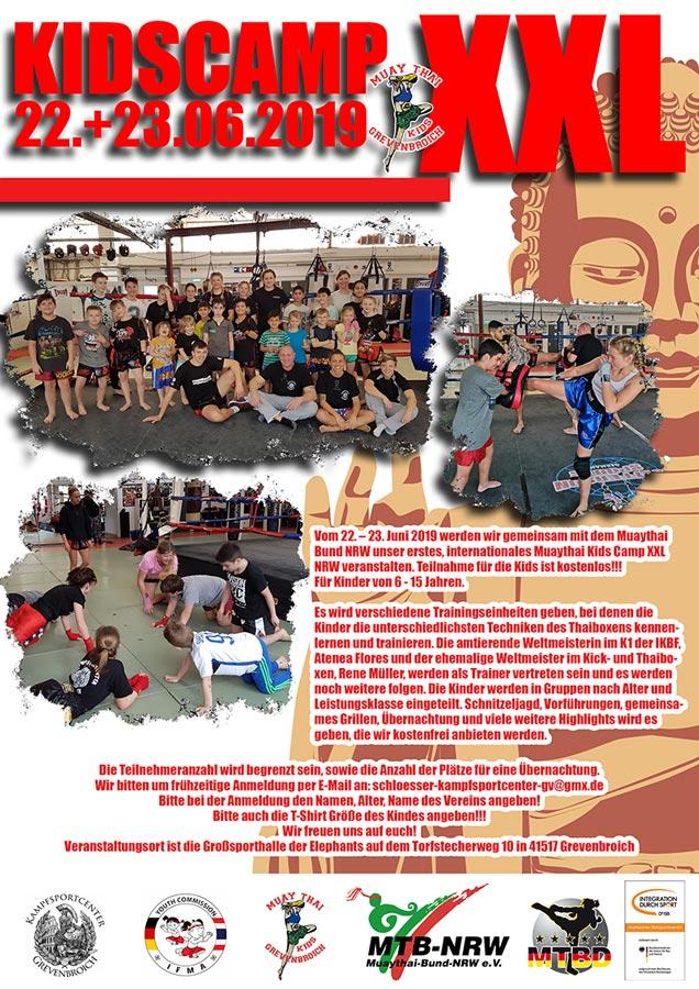 XXL-Kids-Camp : Muay Thai