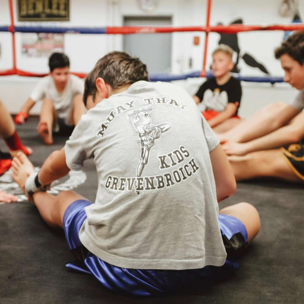 Muay Thai Kids im Kampfsportcenter Grevenbroich